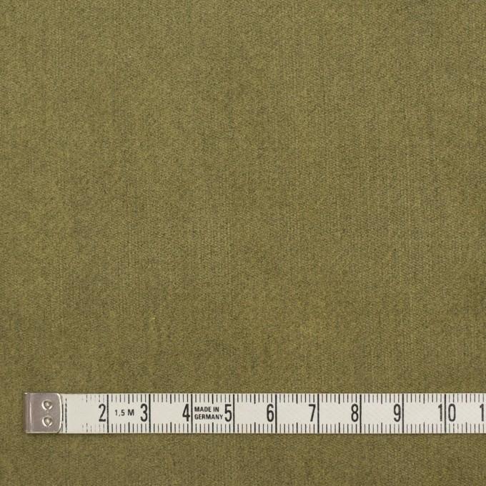 コットン&ポリウレタン×無地(ピスタチオ)×ベッチンストレッチ イメージ4