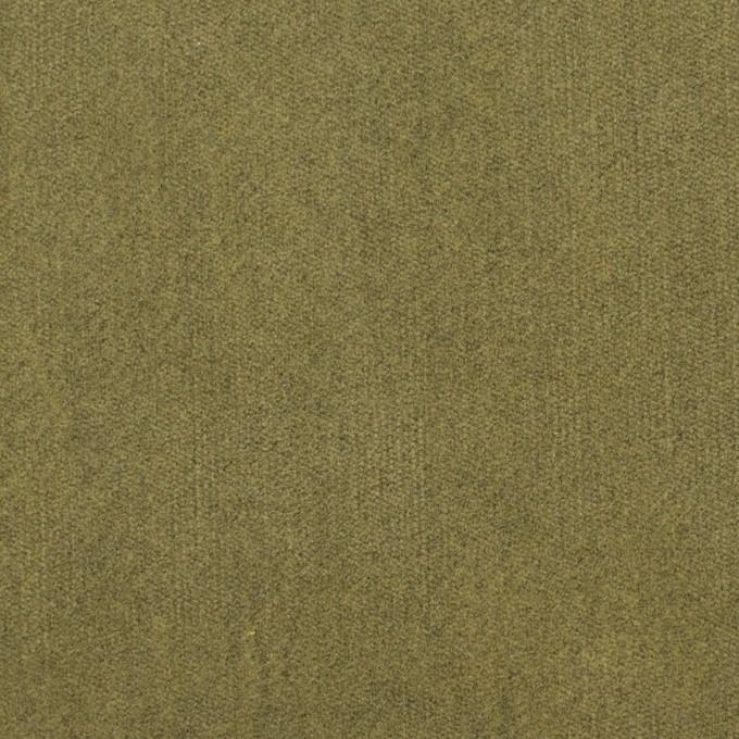 コットン&ポリウレタン×無地(ピスタチオ)×ベッチンストレッチ イメージ1