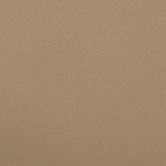 コットン×無地(カーキベージュ)×ギャバジン_全2色 サムネイル1