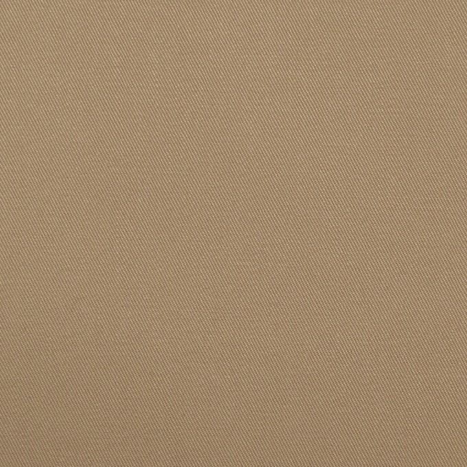 コットン×無地(カーキベージュ)×ギャバジン_全2色 イメージ1