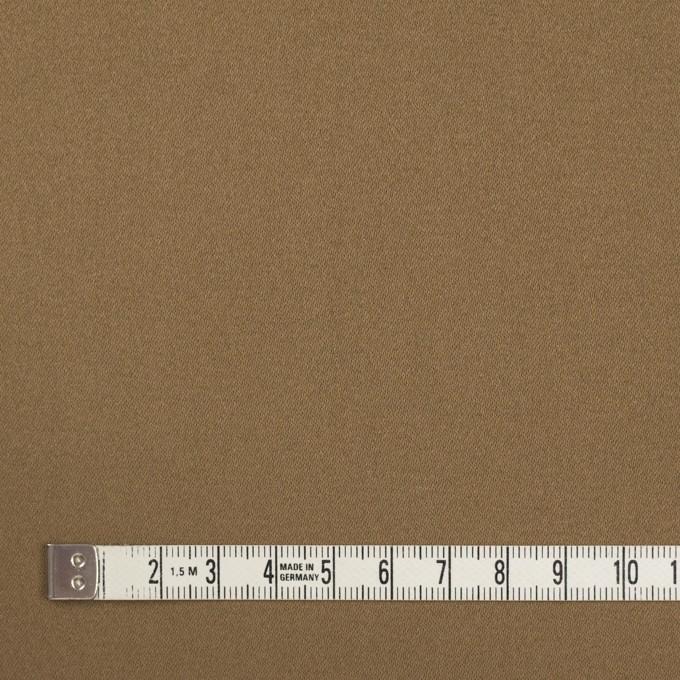 コットン×ポリエステル×無地(オークルベージュ)×サテン_全2色 イメージ4