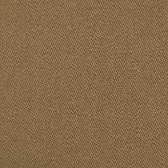 コットン×ポリエステル×無地(オークルベージュ)×サテン_全2色 イメージ1