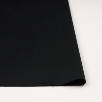 コットン×ポリエステル×無地(ブラック)×サテン_全2色 サムネイル3