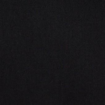 コットン×ポリエステル×無地(ブラック)×サテン_全2色
