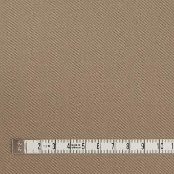 コットン×無地(カーキベージュ)×セルビッチ・カツラギ サムネイル4
