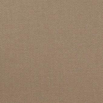 コットン×無地(カーキベージュ)×セルビッチ・カツラギ サムネイル1