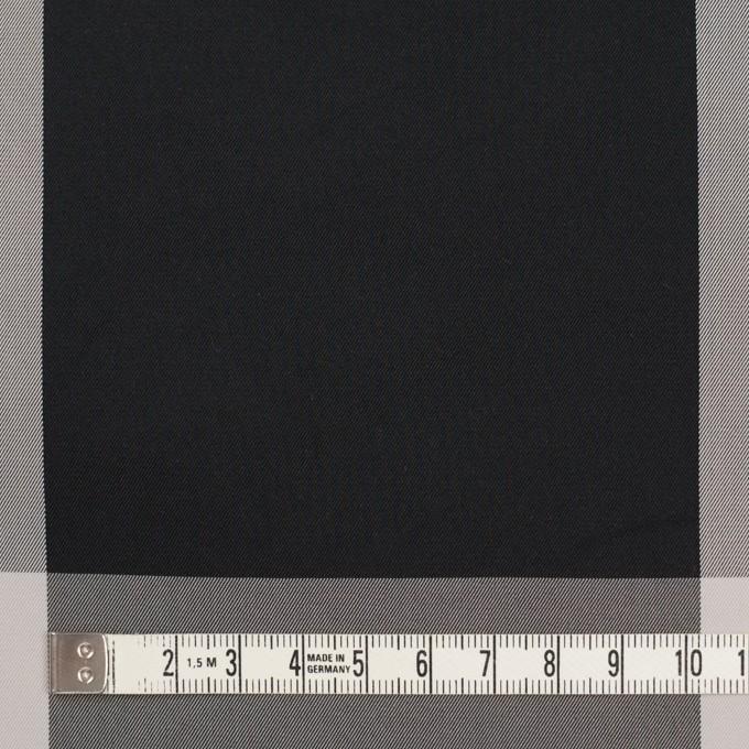 ポリエステル×チェック(ライトグレー&ブラック)×形状記憶サージ_全2色 イメージ4