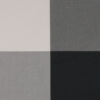 ポリエステル×チェック(ライトグレー&ブラック)×形状記憶サージ_全2色