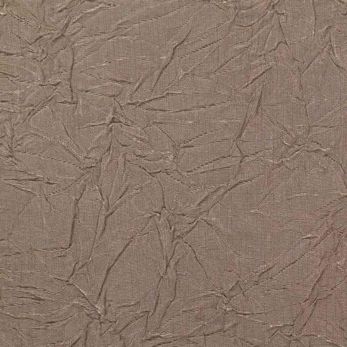 ビスコース&ポリエステル×無地(ローズグレー)×タフタワッシャー(裏芯地貼り)_イタリア製 イメージ1