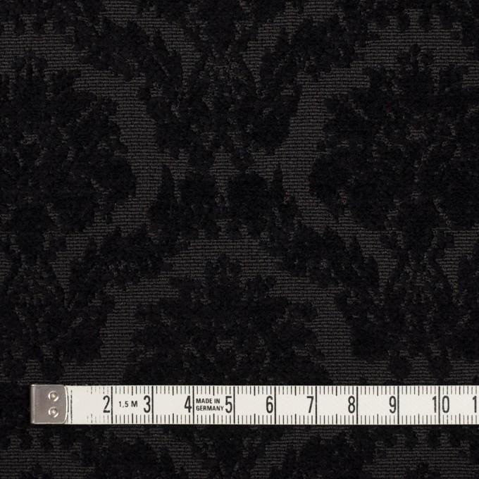 ポリエステル&コットン×幾何学模様(ブラック)×ジャガード イメージ4