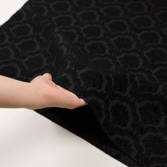 ポリエステル&コットン×幾何学模様(ブラック)×ジャガード サムネイル5