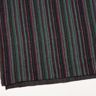 ウール×ストライプ(マルチ)×かわり織 サムネイル2