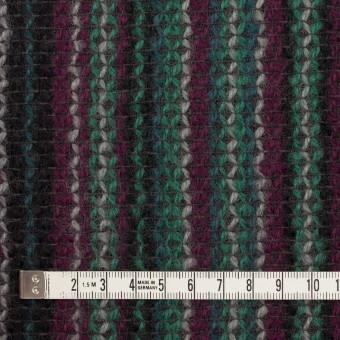 ウール×ストライプ(マルチ)×かわり織 サムネイル4