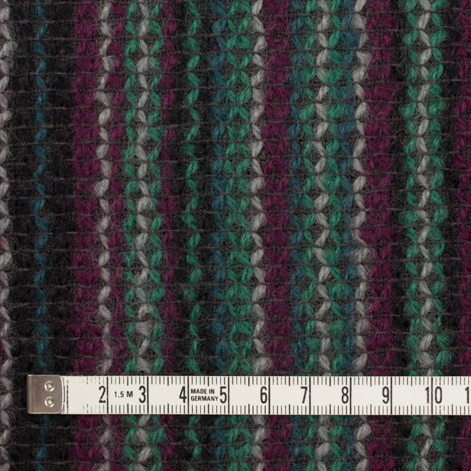 ウール×ストライプ(マルチ)×かわり織 イメージ4
