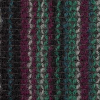 ウール×ストライプ(マルチ)×かわり織