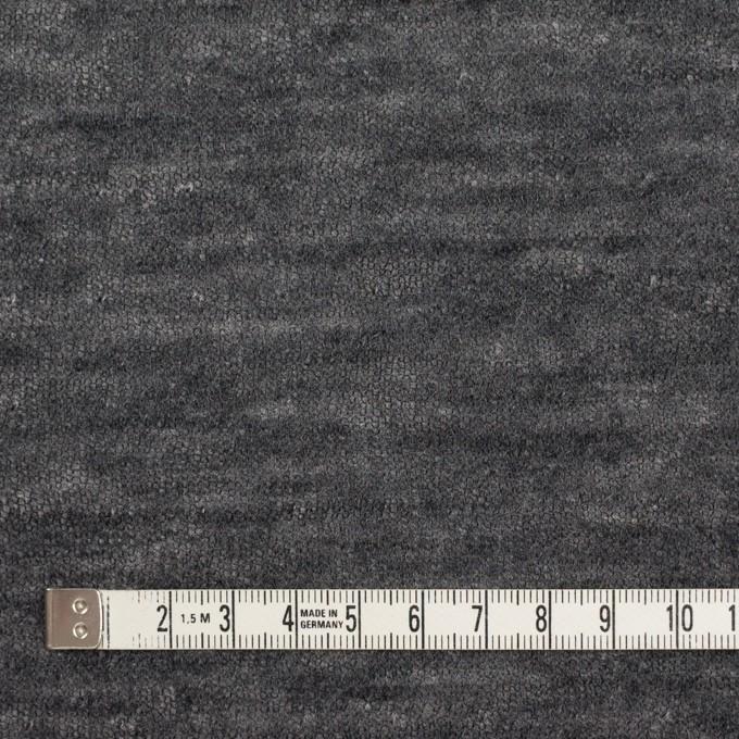コットン&ウール×無地(グレー)×メッシュ&天竺ニット_全3色 イメージ4