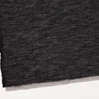 コットン&ウール×無地(ブラック)×メッシュ&天竺ニット_全3色 サムネイル2