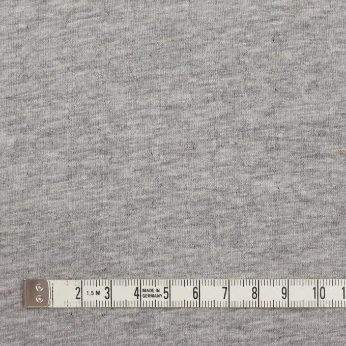 コットン&ウール×無地(ブラック)×メッシュ&天竺ニット_全3色 イメージ5