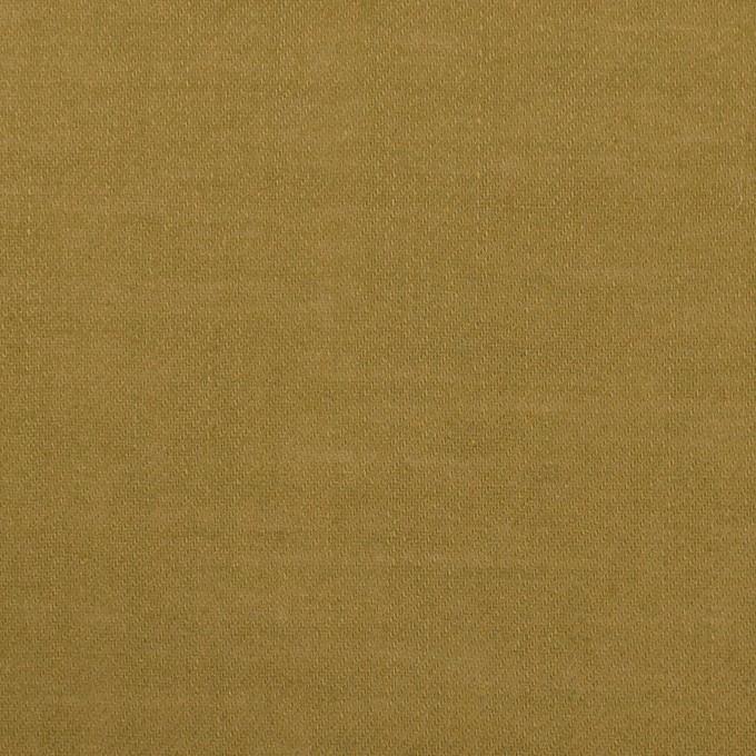 ウール&ポリエステル×無地(オリーブ)×薄サージ イメージ1