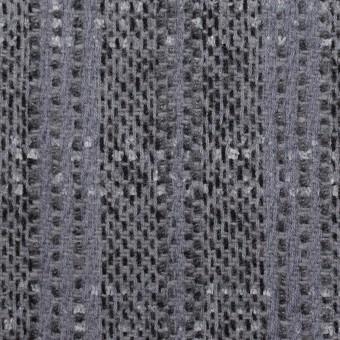ウール&アクリル混×チェック(グレープグレー)×ファンシーツイード サムネイル1