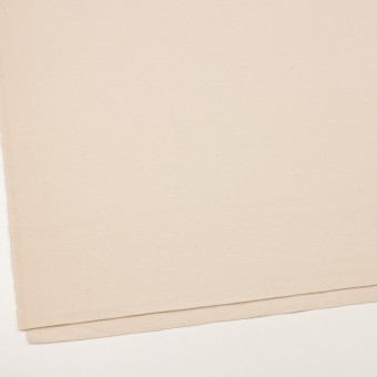 ウール&ナイロン×無地(アンティークホワイト)×フラノ(フランネル)_イタリア製 サムネイル2