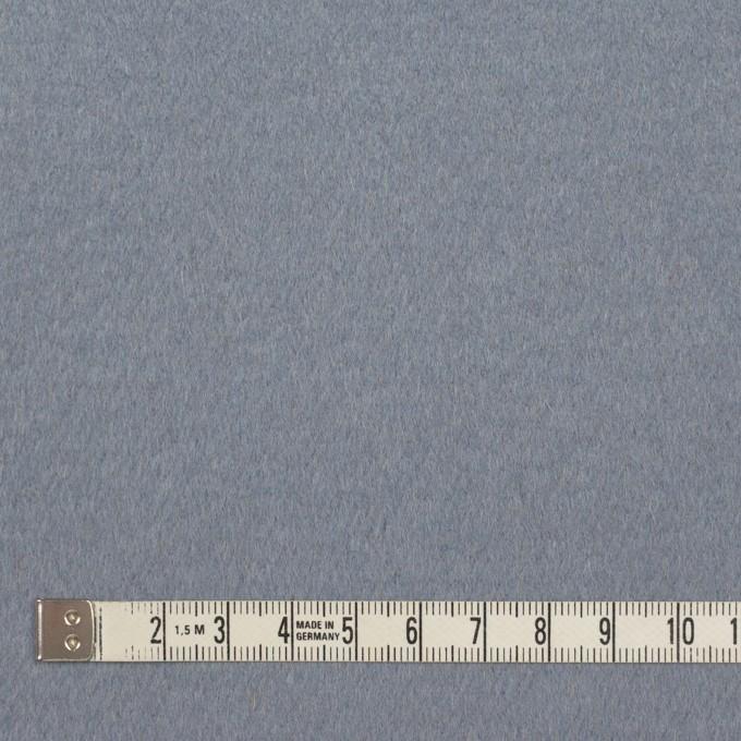 ウール×無地(シナモン&ブルーグレー)×Wフェイスビーバー イメージ5