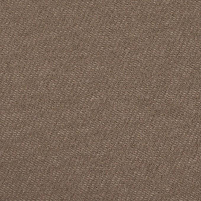 コットン&ポリエステル混×無地(ベージュグレー)×ビエラストレッチ_イタリア製 イメージ1