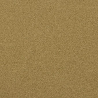 コットン&ポリウレタン×無地(イエローオーカー)×フランネル・ストレッチ_イタリア製
