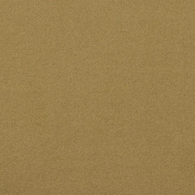 コットン&ポリウレタン×無地(イエローオーカー)×フランネル・ストレッチ_イタリア製 イメージ1