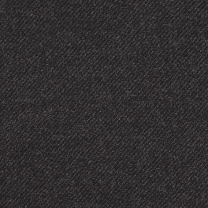 コットン&ポリウレタン×無地(チャコール)×ビエラストレッチ_全3色 イメージ1