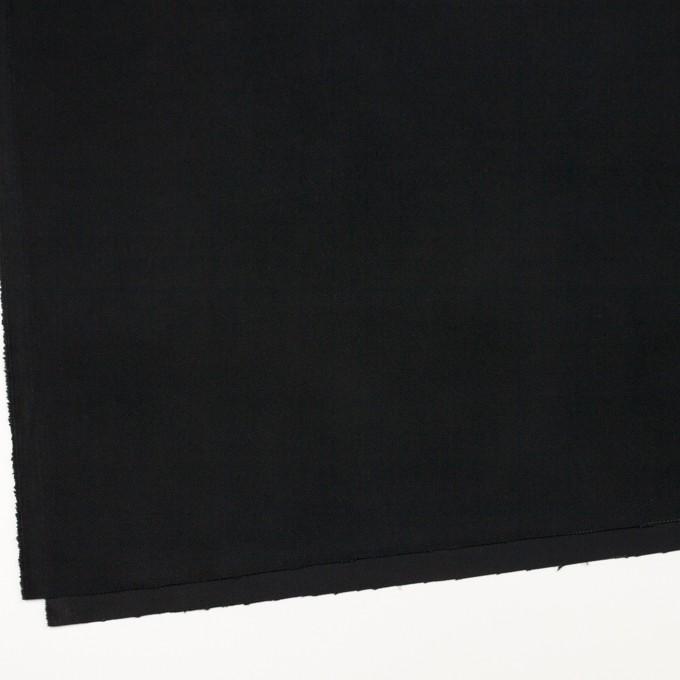コットン×無地(ブラック)×ビエラ イメージ2