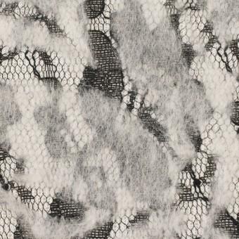 ポリエステル&アクリル混×フラワー(オフホワイト)×ニードルパンチレース_全3色 サムネイル1