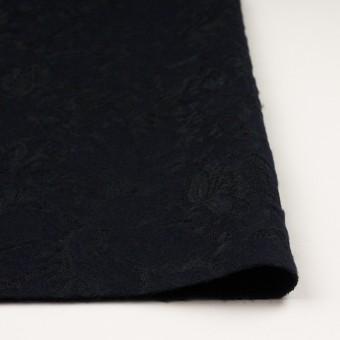 ポリエステル&アクリル混×フラワー(ダークネイビー)×ニードルパンチレース_全3色 サムネイル3