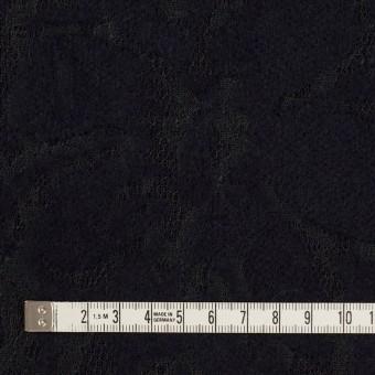 ポリエステル&アクリル混×フラワー(ダークネイビー)×ニードルパンチレース_全3色 サムネイル4
