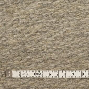 ウール&ポリエステル混×無地(オートミール)×ループニット_全2色 サムネイル4