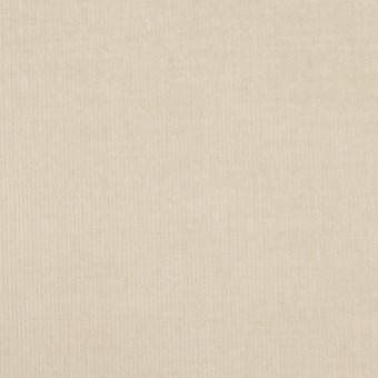 コットン&ポリウレタン×無地(アイボリー)×細コーデュロイ・ストレッチ