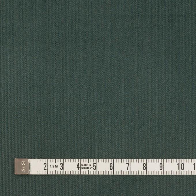 コットン×無地(スレートグリーン)×中細コーデュロイ イメージ4