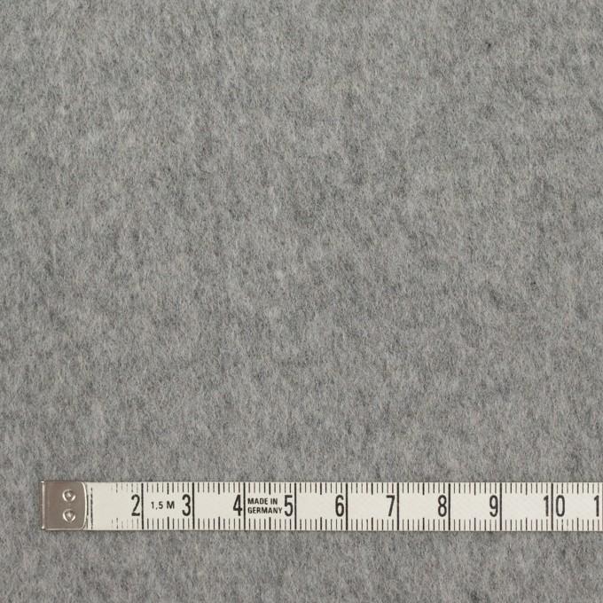 ウール&ナイロン×無地(シルバーグレー)×ビーバー イメージ4