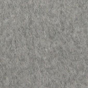 ウール&ナイロン×無地(シルバーグレー)×ビーバー