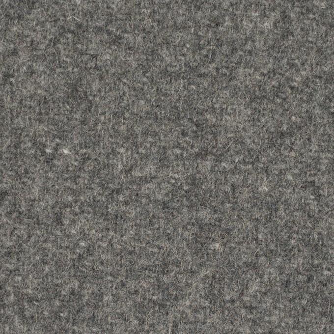 ウール×無地(グレー)×メルトン イメージ1