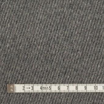ウール×無地(チャコールグレー)×厚カルゼ_全2色 サムネイル4