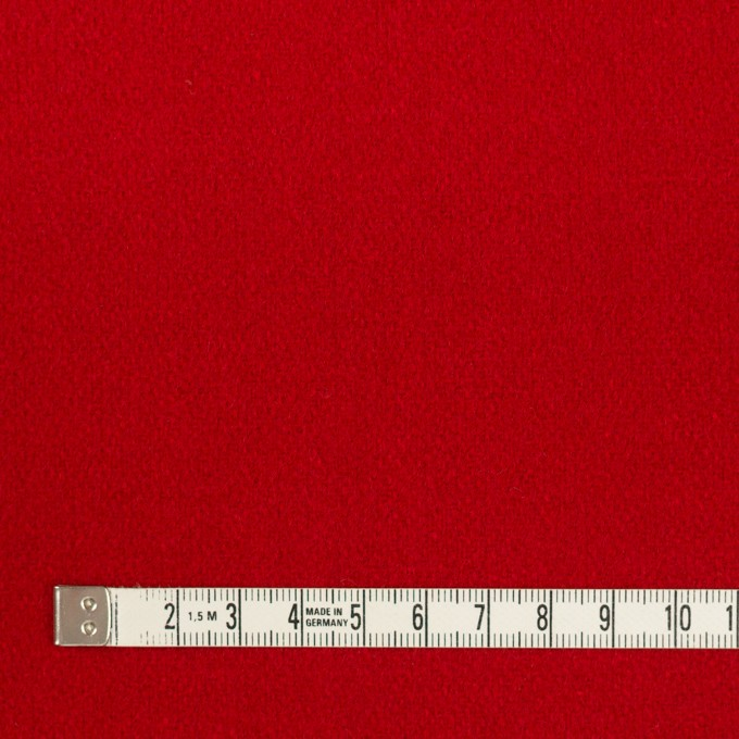 ウール×無地(レッド)×フラノ(フランネル) イメージ4