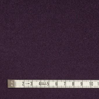 ウール×無地(パープル)×ビーバー_イタリア製 サムネイル4