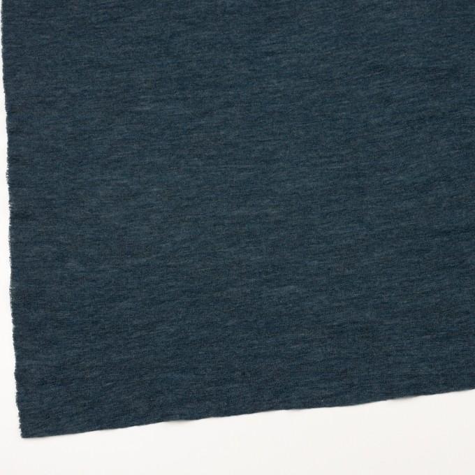 ウール&ナイロン×無地(バルビゾンブルー)×フライスニット イメージ2