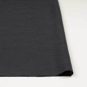 シルク&ナイロン×無地(チャコールグレー)×ポプリン サムネイル3