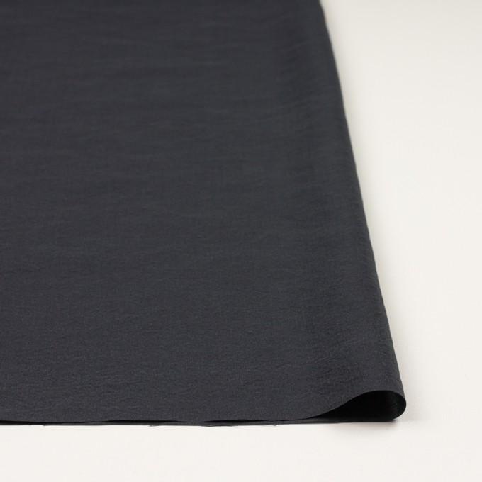 シルク&ナイロン×無地(チャコールグレー)×ポプリン イメージ3