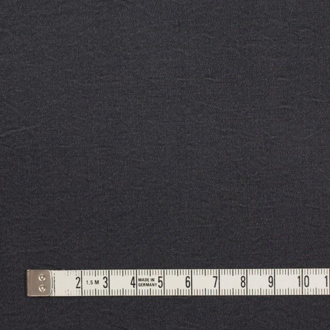 シルク&ナイロン×無地(チャコールグレー)×ポプリン イメージ4
