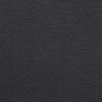 シルク&ナイロン×無地(チャコールグレー)×ポプリン