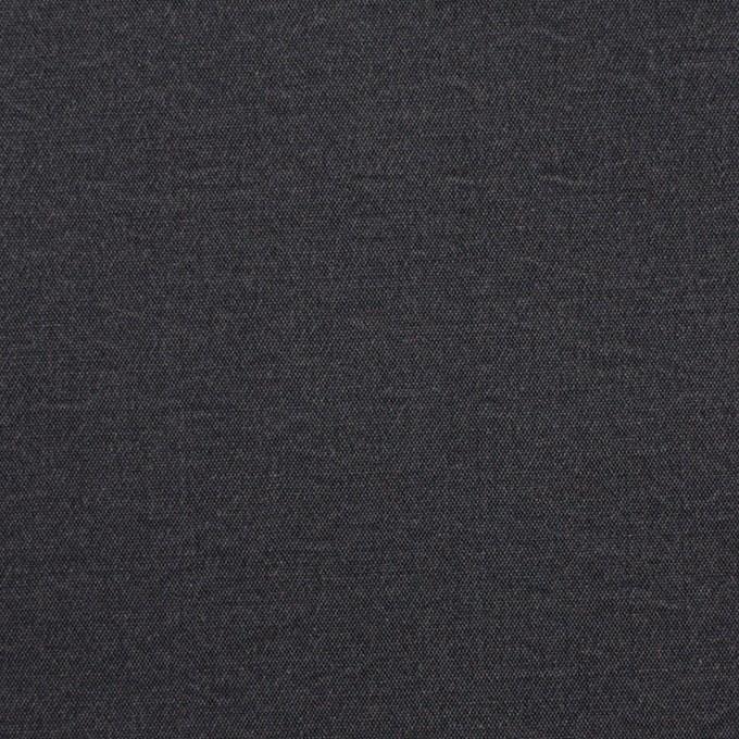 シルク&ナイロン×無地(チャコールグレー)×ポプリン イメージ1