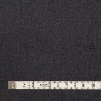 シルク&ナイロン×無地(チャコールグレー)×ポプリンワッシャー サムネイル4